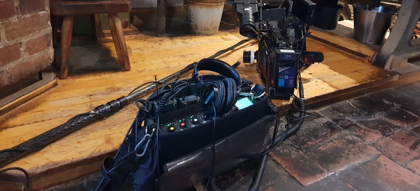 Sound recording film tv